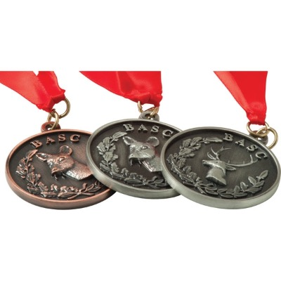 Image of Alloy Injection & Nickel Plated Medal (50mm)