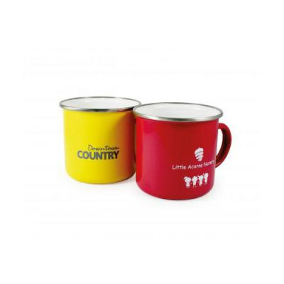 Image of Enamel ColourCoat Mug