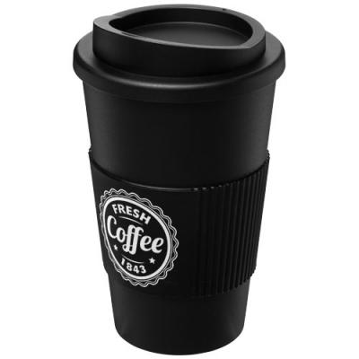 Image of Americano® 350 ml insulated tumbler with grip
